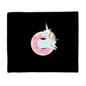 Donut Ever Give Up Bed Throw