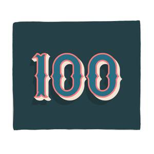 100 Bed Throw