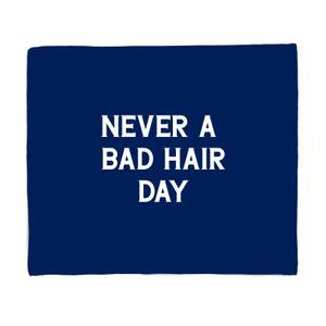 Never A Bad Hair Day Bed Throw