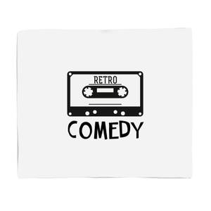 Retro Comedy Bed Throw