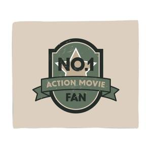 No.1 Action Movie Fan Bed Throw