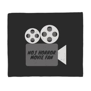 No.1 Horror Movie Fan Bed Throw