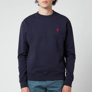 AMI Men's De Coeur Sweatshirt - Navy