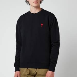 AMI Men's De Coeur Sweatshirt - Black