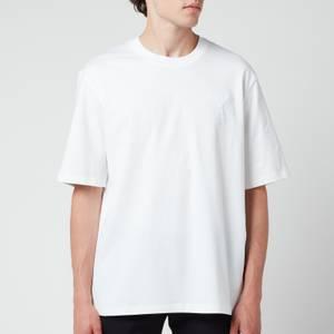 AMI Men's Oversized De Coeur Logo T-Shirt - White