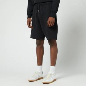 AMI Men's De Coeur Track Shorts - Black