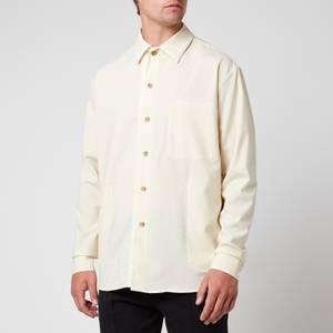 Tom Wood Men's Overshirt - Ecru