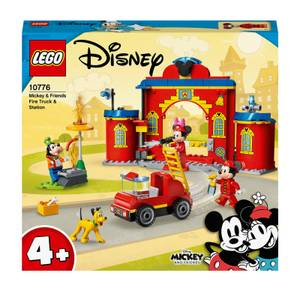 LEGO 4+ Mickey & Friends Fire Truck & Station Toy (10776)