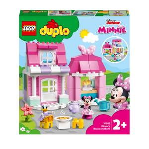LEGO DUPLO Minnie's House and Café Toy for Toddlers (10942)