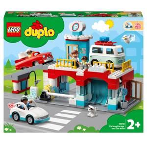 LEGO DUPLO Town Parking Garage and Car Wash Set (10948)