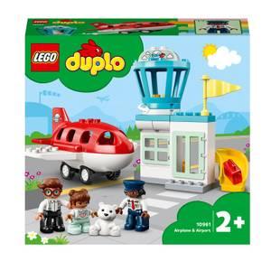 LEGO DUPLO: Airplane & Airport Building Set (10961)
