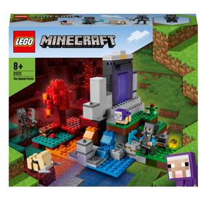 LEGO Minecraft The Ruined Portal Construction Toy (21172)