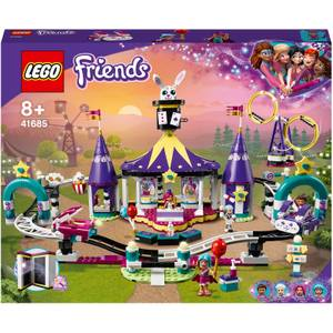 LEGO Friends Magical Funfair Rollercoaster Construction Toy (41685)