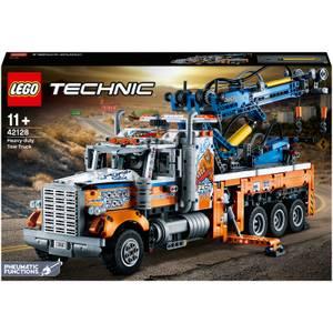 LEGO Technic: Heavy-Duty Tow Truck Model Building Set (42128)
