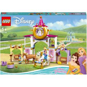 LEGO Disney Belle & Rapunzel's Royal Stables Horse Toy (43195)