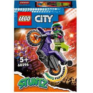 LEGO City Wheelie Stunt Bike Toy (60296)