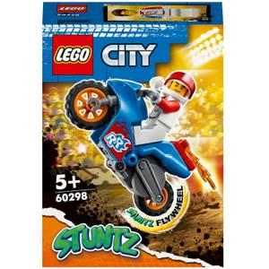 LEGO City Rocket Stunt Bike Toy (60298)