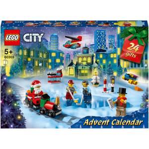 LEGO City: Advent Calendar 2021 Christmas Toy Gift Set (60303)