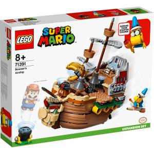 LEGO Super Mario Bowser's Airship Expansion Set Toy (71391)