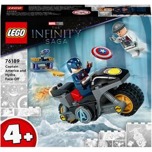 LEGO Marvel Captain America and Hydra Face-Off (76189)