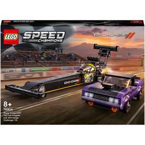 LEGO Speed Champions Dodge Challenger Mopar SRT Dragster Toy (76904)