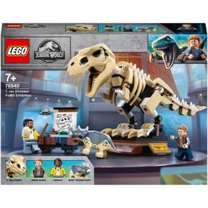 LEGO Jurassic World: T. rex Dinosaur Fossil Toy Set (76940)