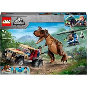 LEGO Jurassic World: Carnotaurus Dinosaur Chase Toy (76941)