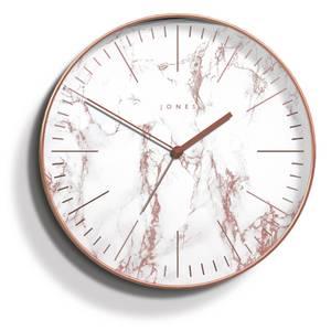 Jones Marble Wall Clock - Rose Gold