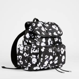 Ted Baker Women's Shefa Nocturnal Animal Nylon Backpack - Black