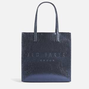 Ted Baker Women's Abzcon Embossed Icon Bag - Dk-Blue