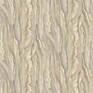 Elle Decoration Marble Gold Silver Wallpaper