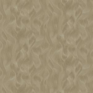 Elle Decoration Wave Gold Wallpaper