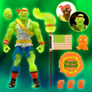 Super7 The Toxic Avenger ULTIMATES! Figure - Radioactive Red Rage Toxie