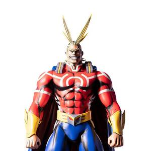First 4 Figures - My Hero Academia All Might - Silver Age PVC Figure