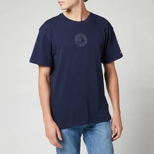Tommy Jeans Men's Tonal Circular Logo T-Shirt - Twilight Navy