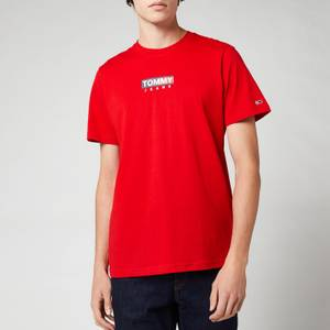 Tommy Jeans Men's Entry Print T-Shirt - Tomato Red