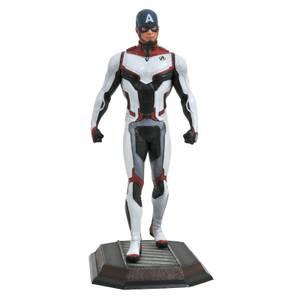 Diamond Select Marvel Gallery Avengers: Endgame PVC Figure - Team Suit Captain America