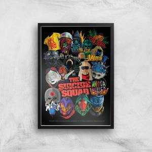 Suicide Squad Poster Giclee Art Print