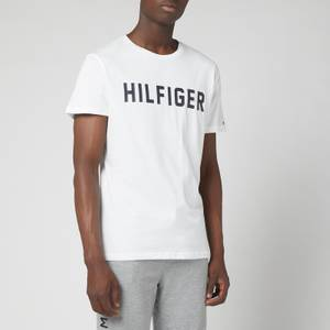 Tommy Hilfiger Men's Logo Crewneck T-Shirt - White