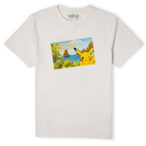 Pokémon Pikachu Exploring The Alola Region Unisex T-Shirt - Cream