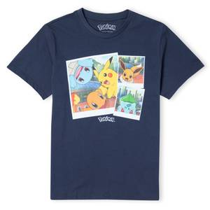 Pokémon Walking Along The Waterfront  Unisex T-Shirt - Navy