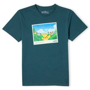 Pokémon Wish You Were Here Unisex T-Shirt - Green