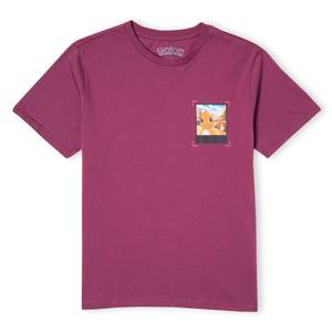 Pokémon Charmander's Desert Adventure Unisex T-Shirt - Burgundy