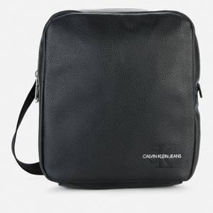 Calvin Klein Jeans Men's Micro Pebble Reporter Bag - Black