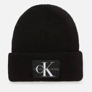 Calvin Klein Jeans Men's Monogram Beanie - Black