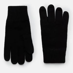 Tommy Hilfiger Men's Pima Cotton Gloves - Black