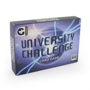 University Challenge Card Game