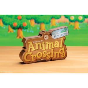 Nintendo Animal Crossing Logo Light