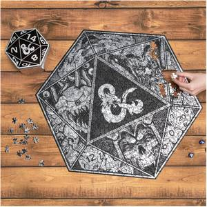 Dungeons and Dragons Jigsaw Puzzle - 750 Pieces