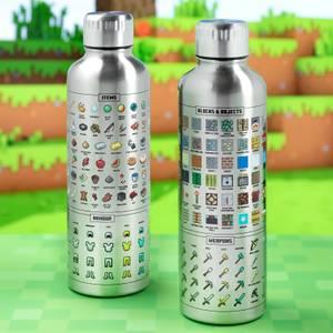 Minecraft Metal Water Bottle